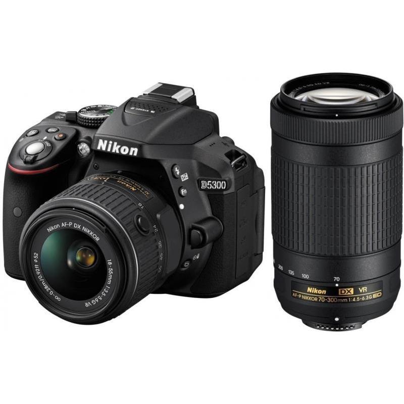 Nikon D5300 Kit (AF-P 18-55 VR+AF-P 70-300 VR)