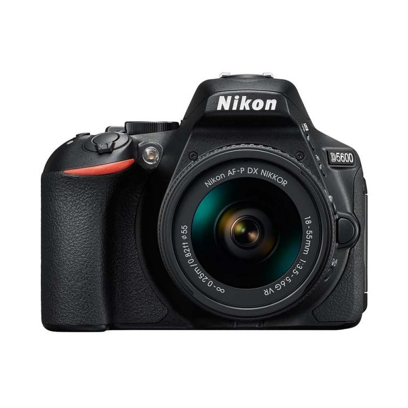 Nikon D5600 Kit (AF-P 18-55 VR) Black