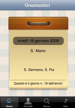 Onomastici Calendario.Cedlecca Software